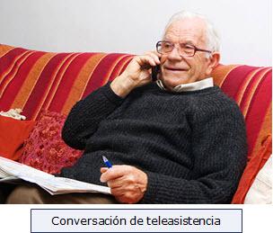Conversación de teleasistencia