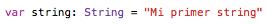 Características del lenguaje Swift